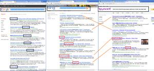 Google Vs Bing & Yahoo